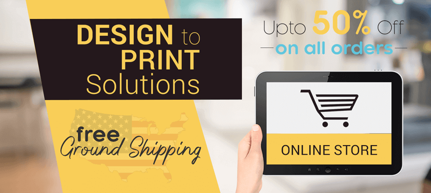 Design to Print Solutions - Upto 50% Discount & Free Shipping