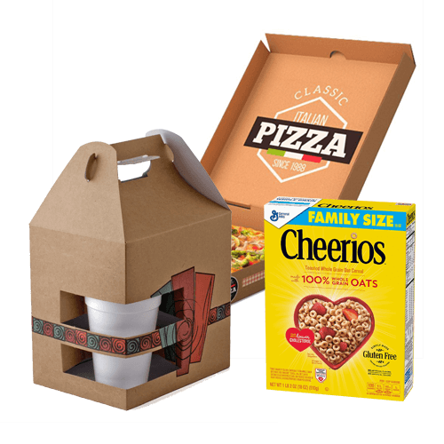Custom Food Product Packaging Boxes