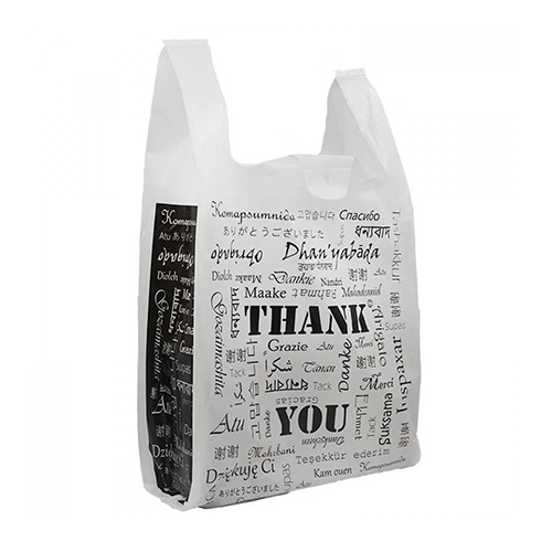 Custom Printed Polyethylene Carrier Bag