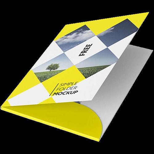 Presentation Folders Custom Folder